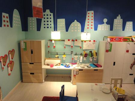幼児向けの部屋