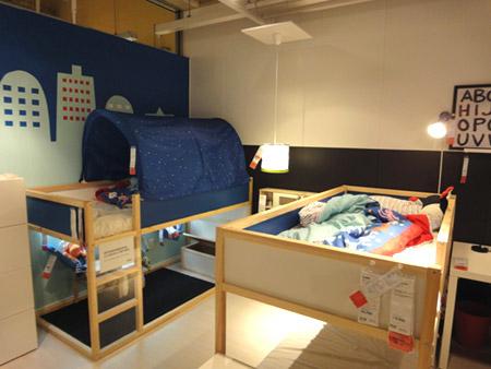 子供用ロフトベッド