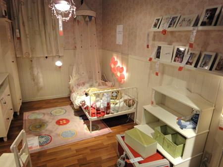 姫系の子供部屋