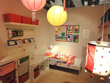 シンプルな子供部屋