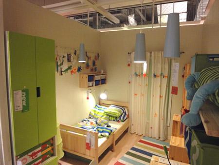 ナチュラルな子供部屋