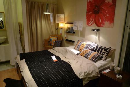 リゾートホテルのようなベッド