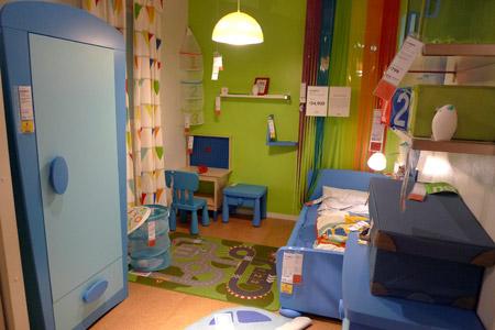 子供らしさをある意味追及した子供部屋コーディネート