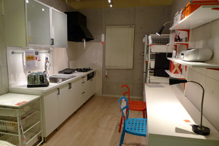 キッチンとワークスペースのある意味凄いコラボ