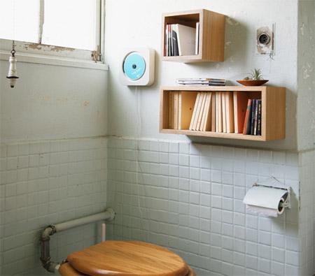 無印良品「壁に付けられる家具」の箱やボックスをトイレに