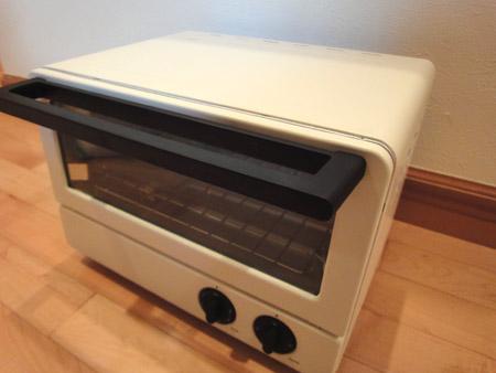 超シンプルな±0オーブントースター横型