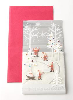 クリスマスカード状態