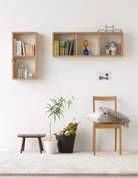 無印良品の壁に付けられる家具