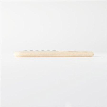 10mmと極薄の木製ソーラー電卓